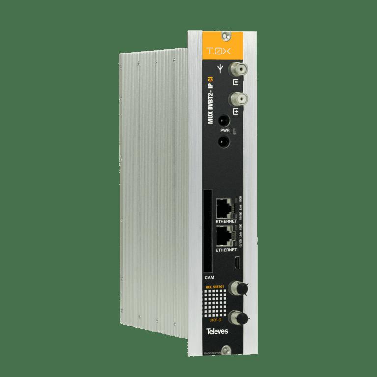 Televes transmodulatori DVB-T/T2 – IP za ugostiteljske sustave i pribor za ugradnju