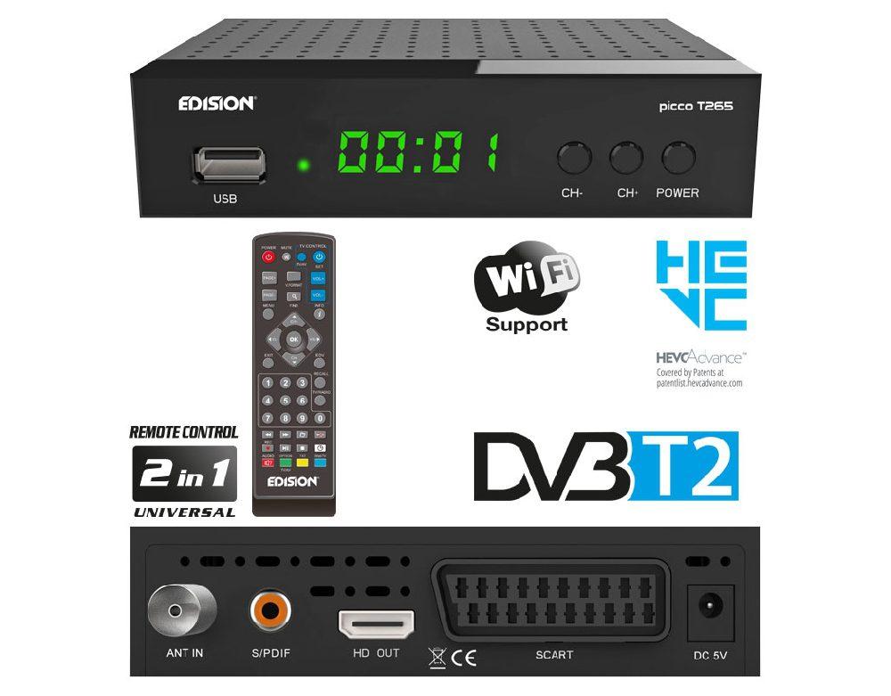 DVB-T2 prijemnik visoke rezolucije