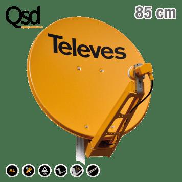 """Vrhunske """"Televes"""" satelitske antene i pribor za montažu jednog ili više LNB-a"""