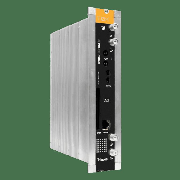 Televes transmodulatori DVB-S/S2 - COFDM za ugostiteljske sustave i pribor za ugradnju